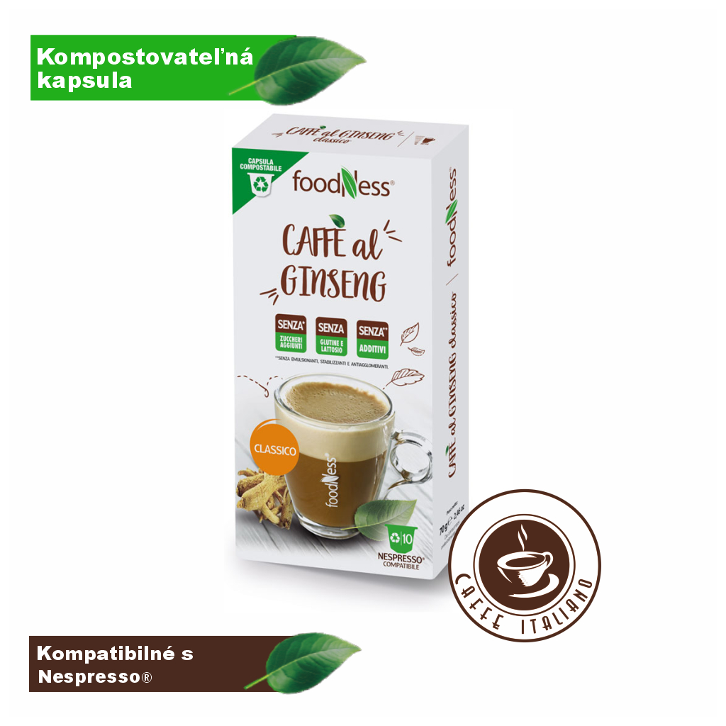 Ženšen káva CLASSIC 10 kapsúl/7g