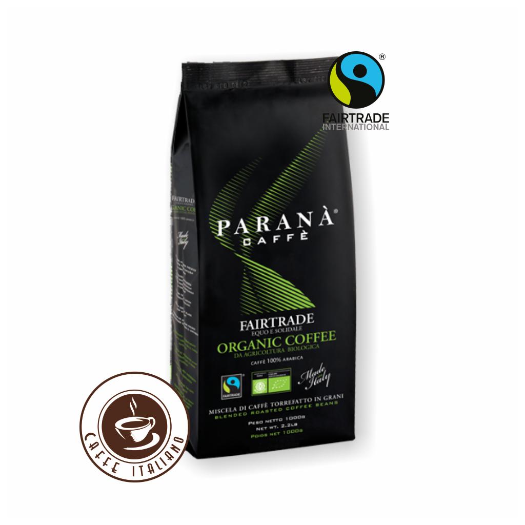 Paraná Organic 1kg Fairtrade zrnková káva