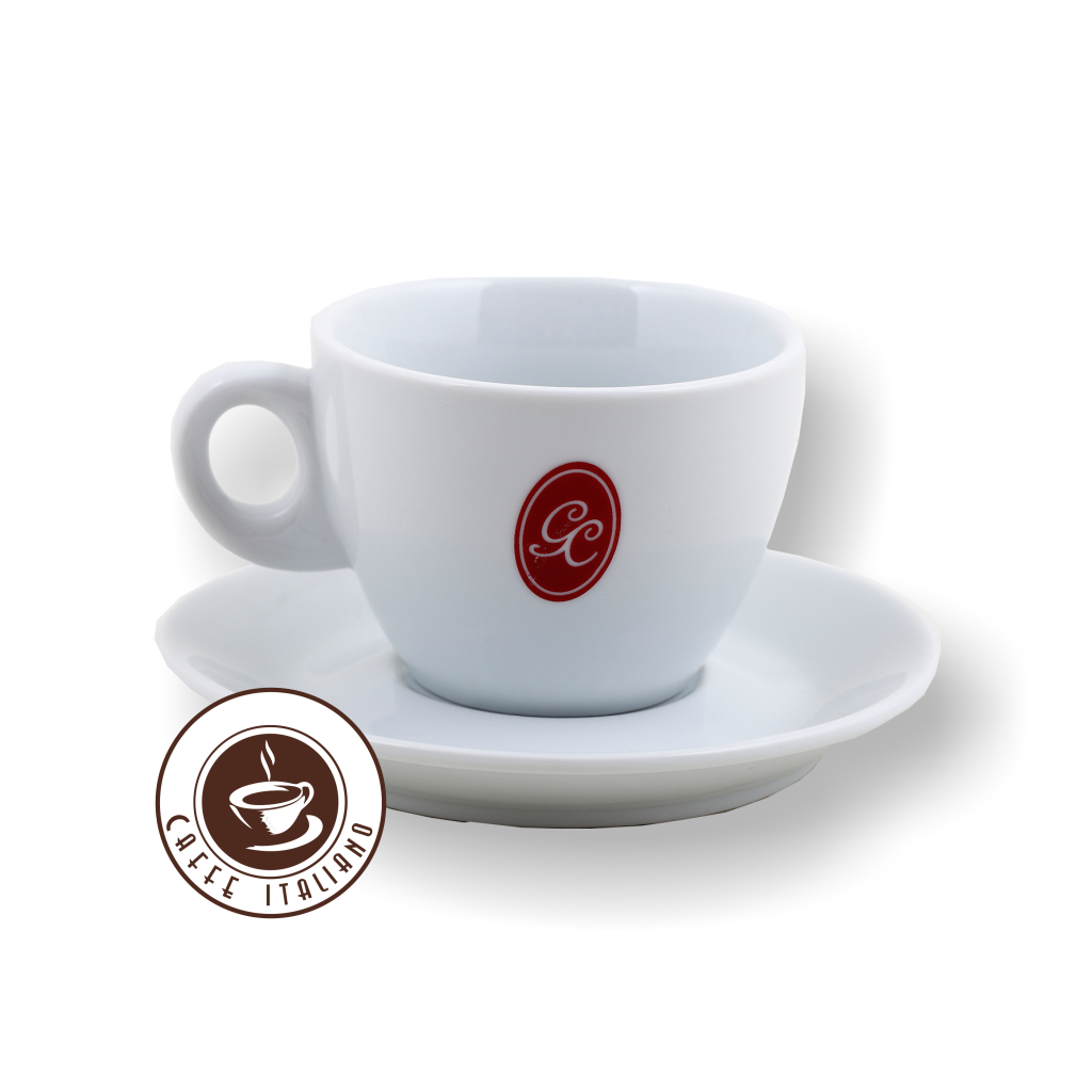 goriziana cappuccino šálka a podšálka caffeitaliano