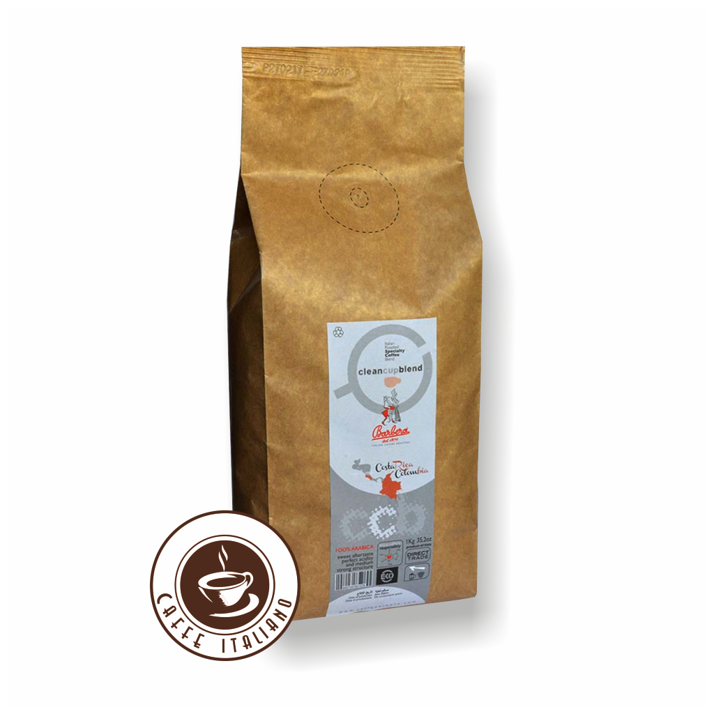 Barbera Clean Cup Blend 1kg zrnková káva