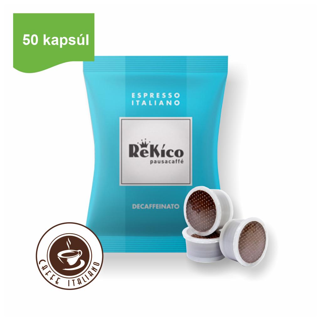 Rekico kávové bezkofeínové kapsule point 50ks