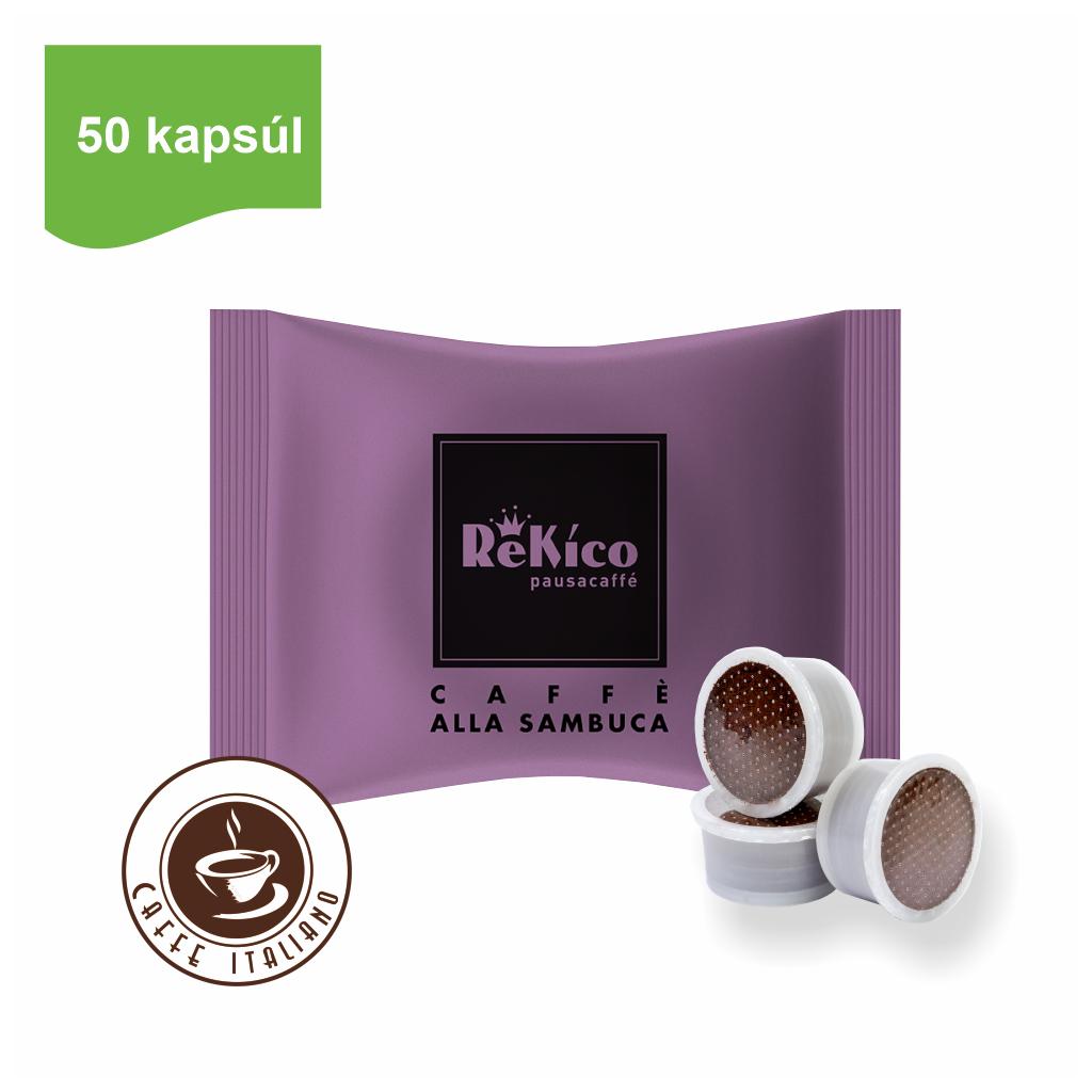 rekico kavove kapsule point sambuca 50ks caffeitaliano