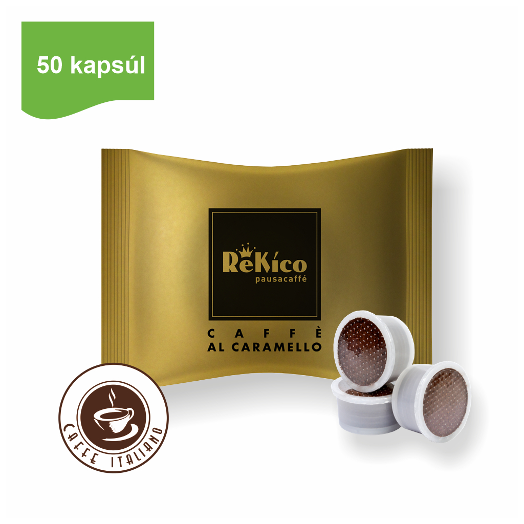 Rekico kávové point kapsule Caramel 50ks