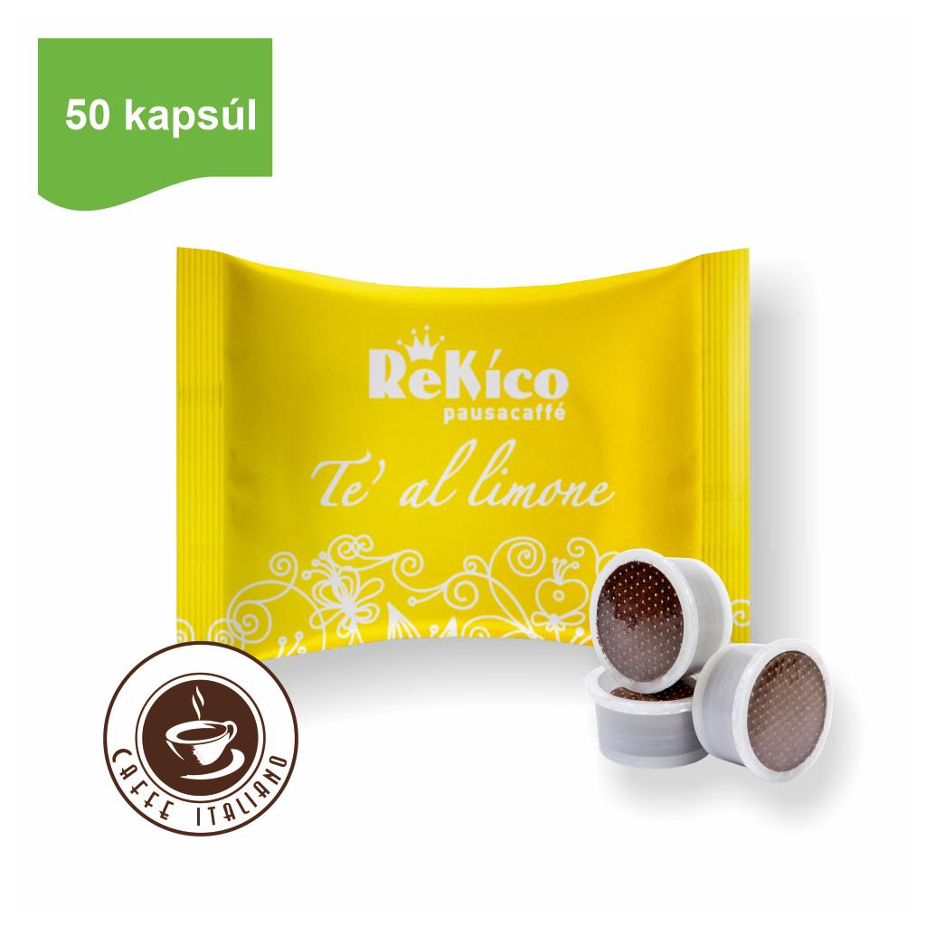 Rekico citrónový čaj v point kapsulách 50ks