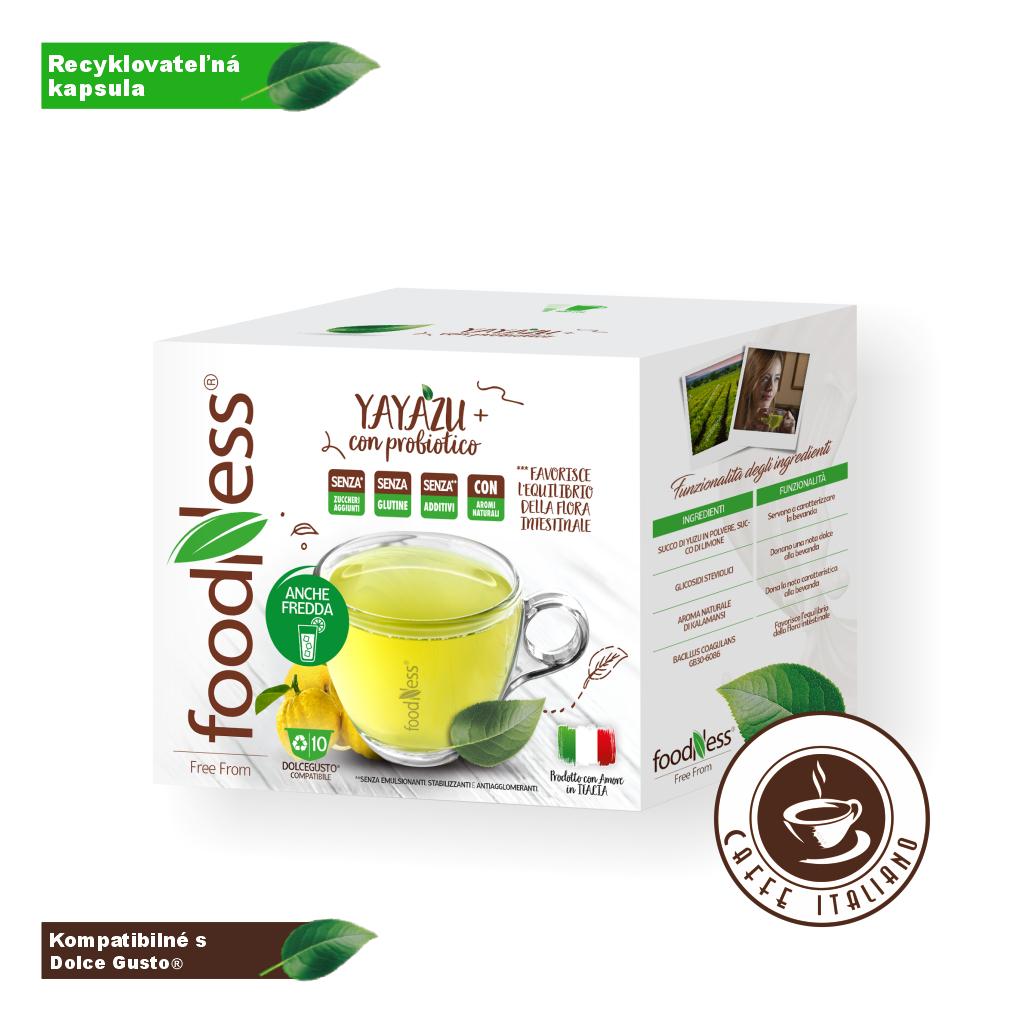 Čaj YAYAZU - citrusové ovocie 10kapsúl/14g