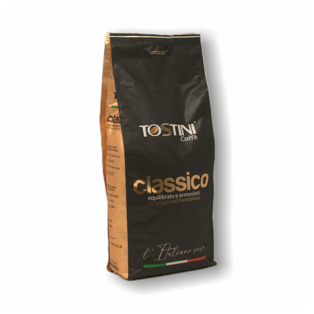 Zrnková káva Tostini Miscela Classico 1kg