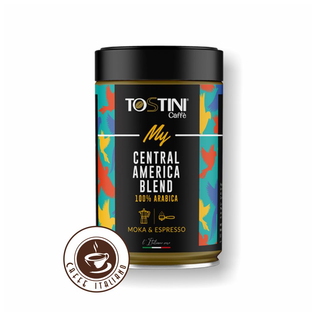 Mletá káva Tostini Coffee America 250g dóza