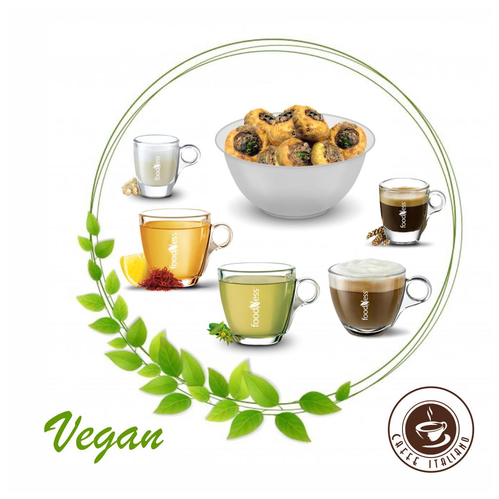 """Foodness Dolce Gusto box """"Vegan"""" 50ks"""