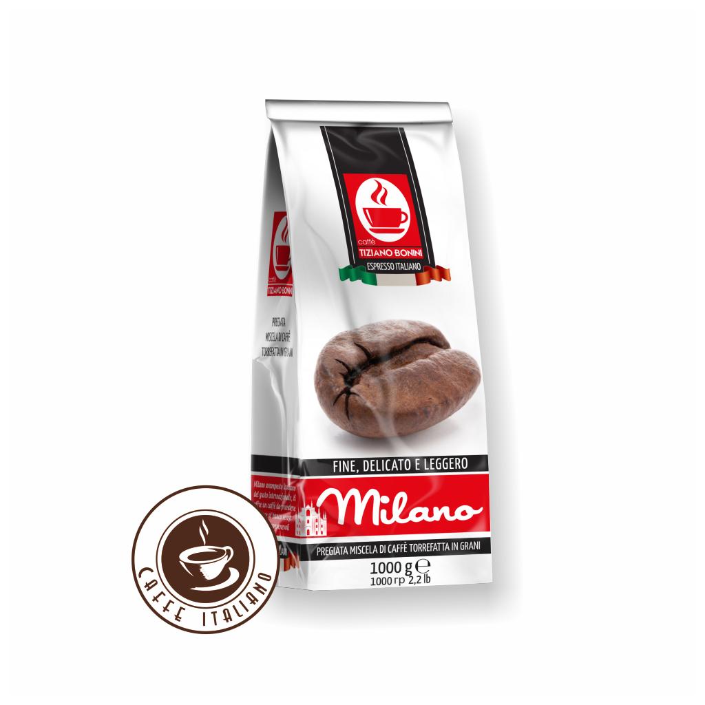 Zrnková káva Bonini Milano 1kg
