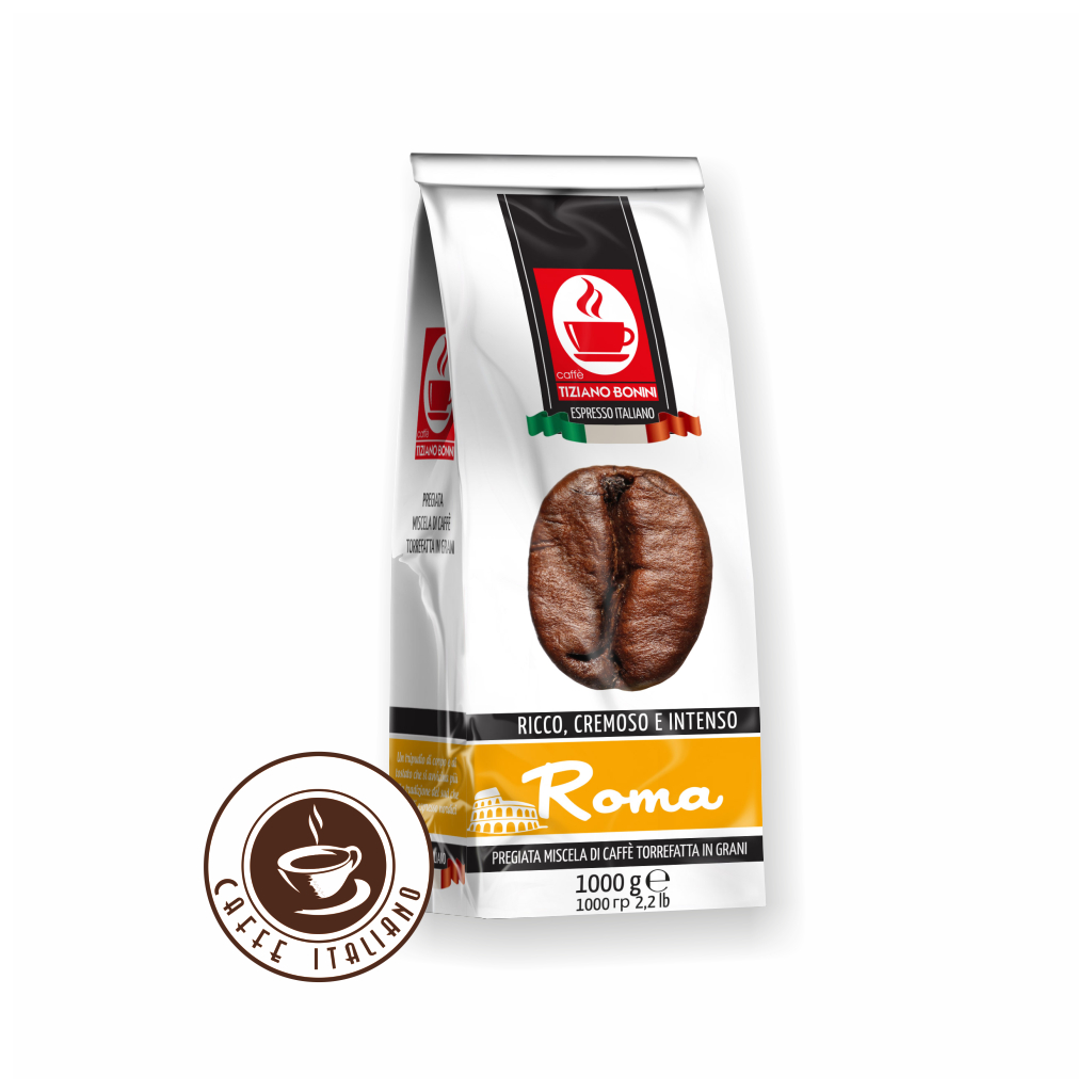 Zrnková káva Bonini Roma 1kg