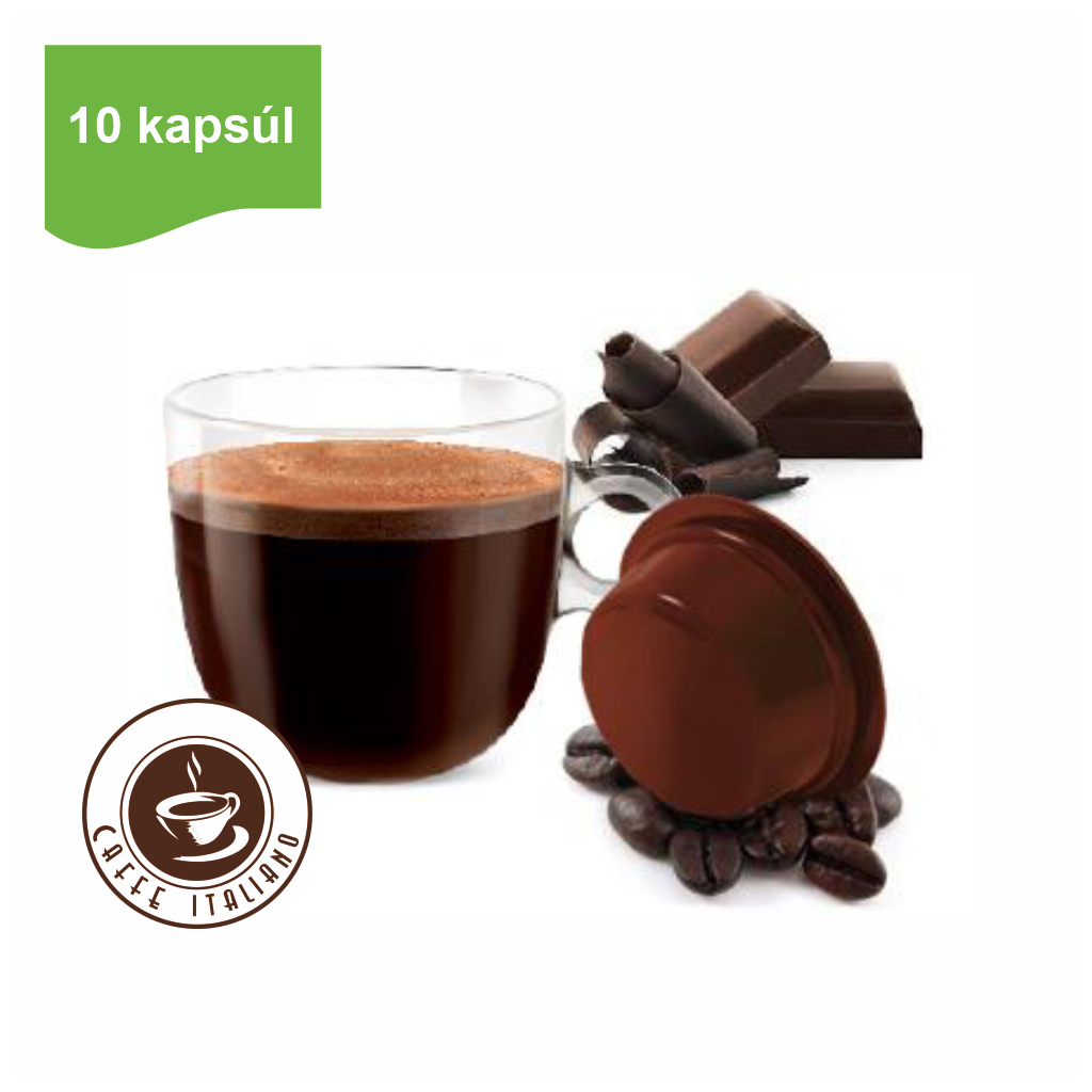 Kapsule Lavazza® A Modo Mio® Bonini Tmavá Čokoláda 10 ks