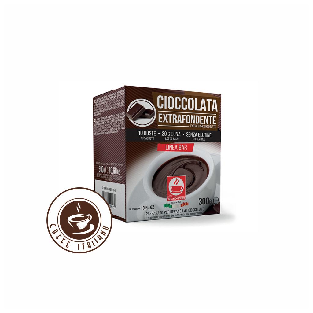 Horúca čokoláda Bonini Extra tmavá 30g/10ks