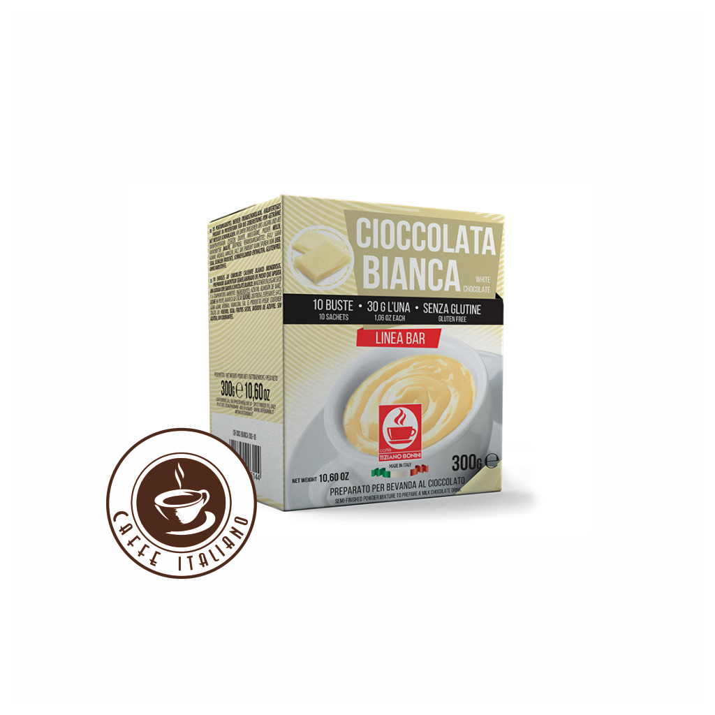 Horúca Biela čokoláda Bonini 30g/10ks