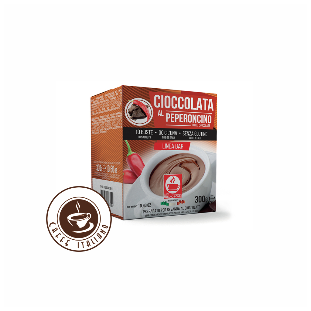 Horúca čokoláda s Chilli Bonini 30g/10ks