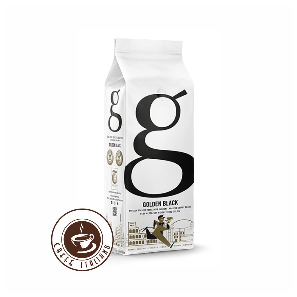 Golden Black zrnková káva 1kg