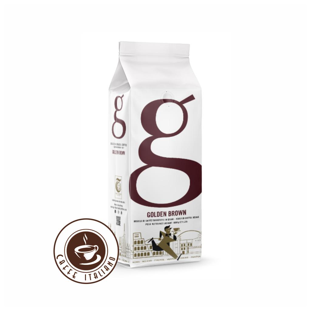 Golden Brown zrnková káva 1kg