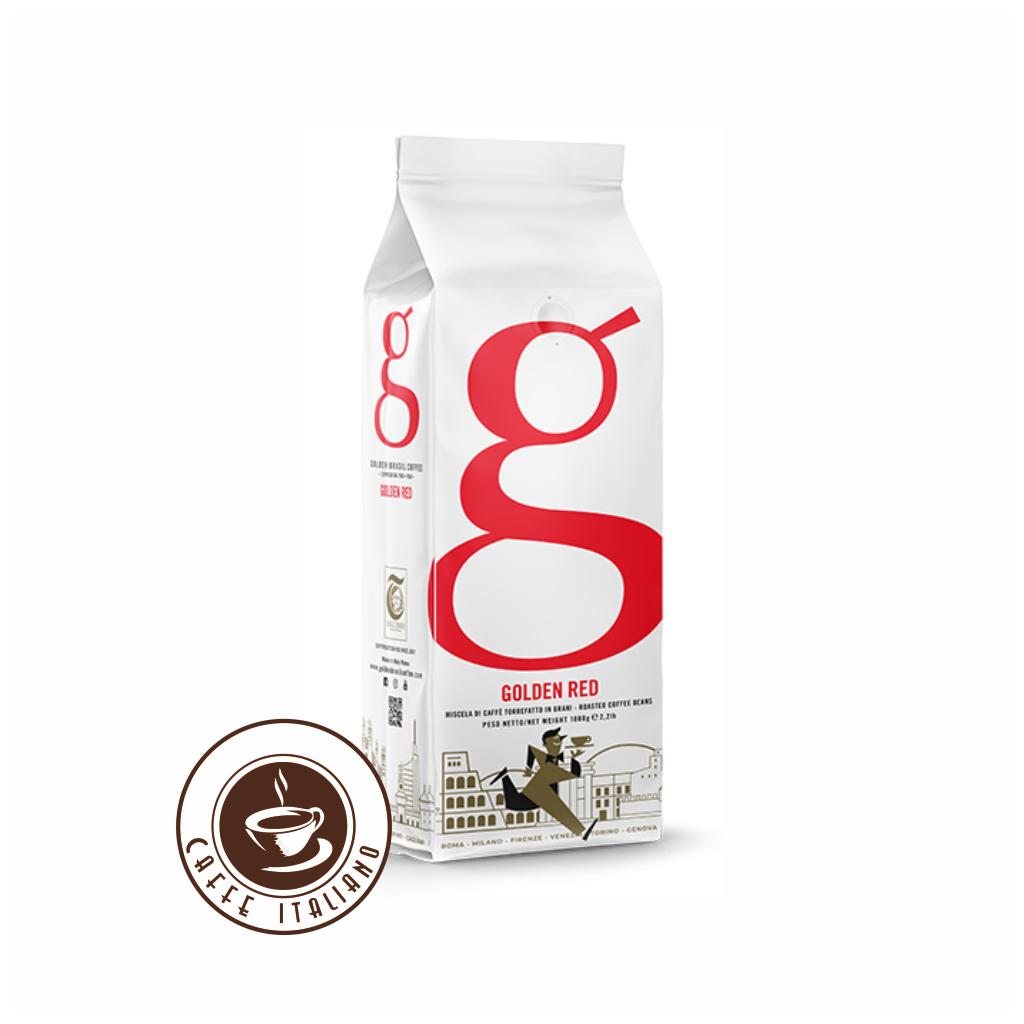 Golden Red zrnková káva 1kg