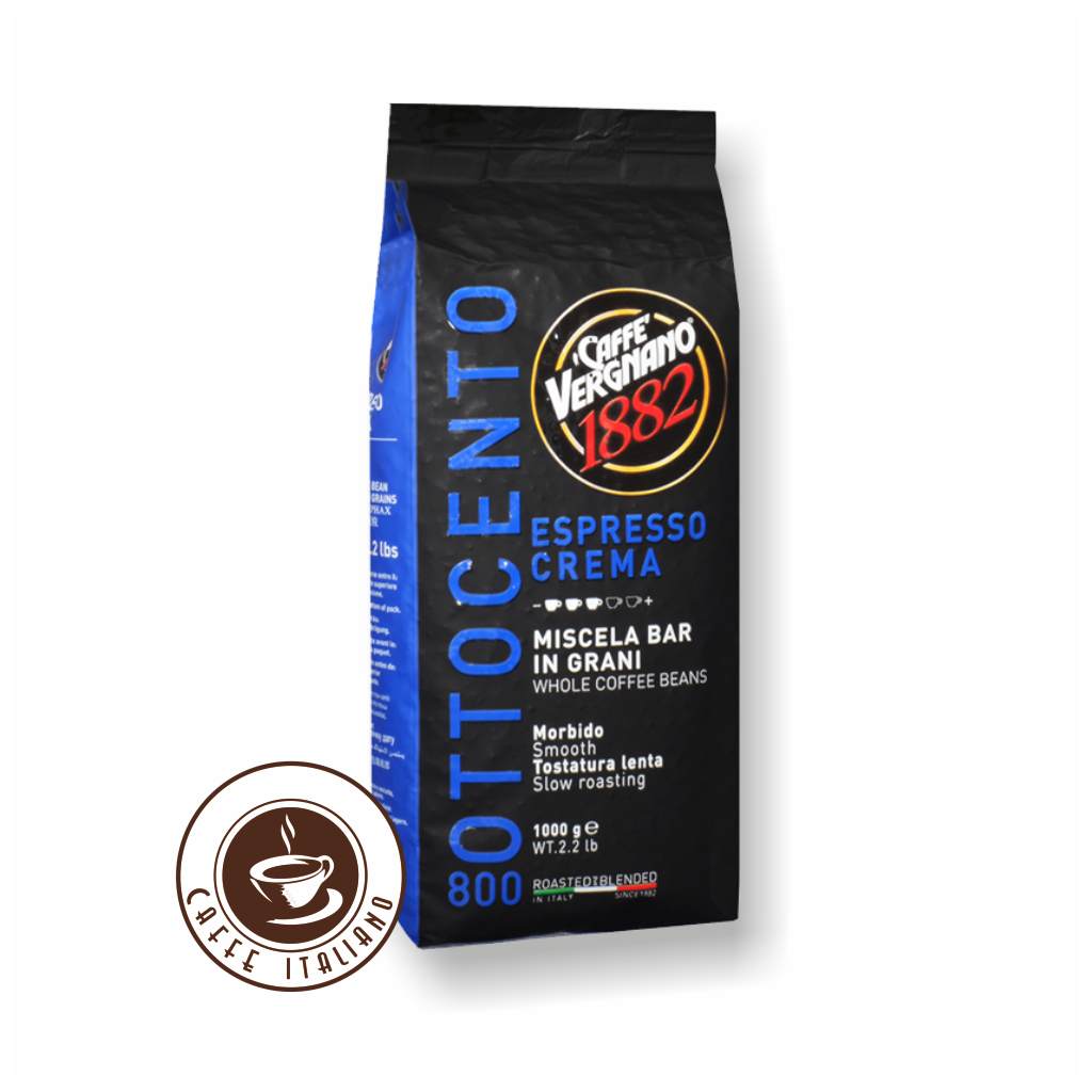 Vergnano Espresso Crema 1kg zrnková káva