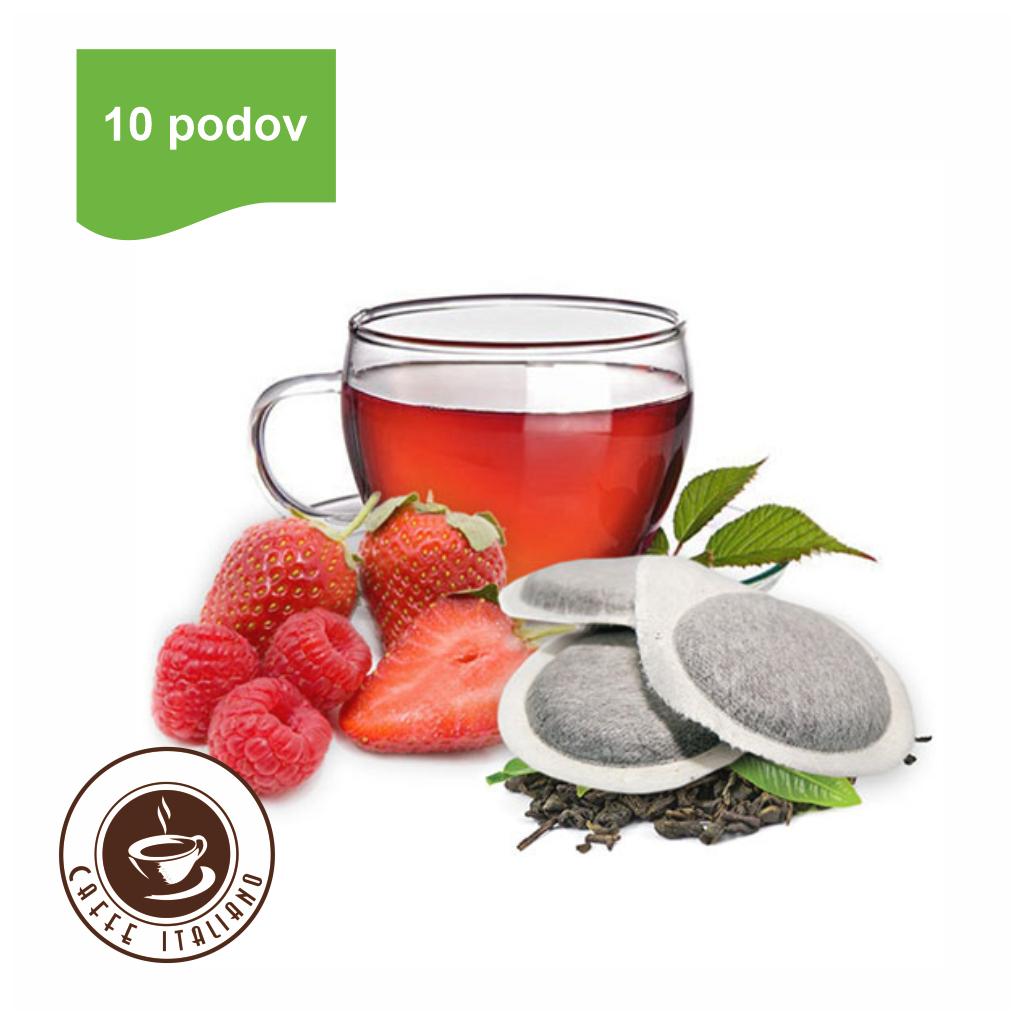 Bonini E.S.E. pody Jahoda/Malina čaj 10ks
