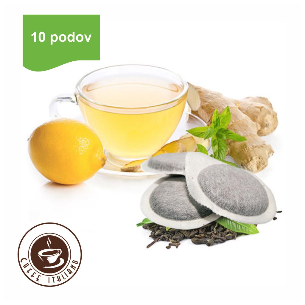 Bonini E.S.E. pody Čaj zo zázvoru a citrónu 10ks