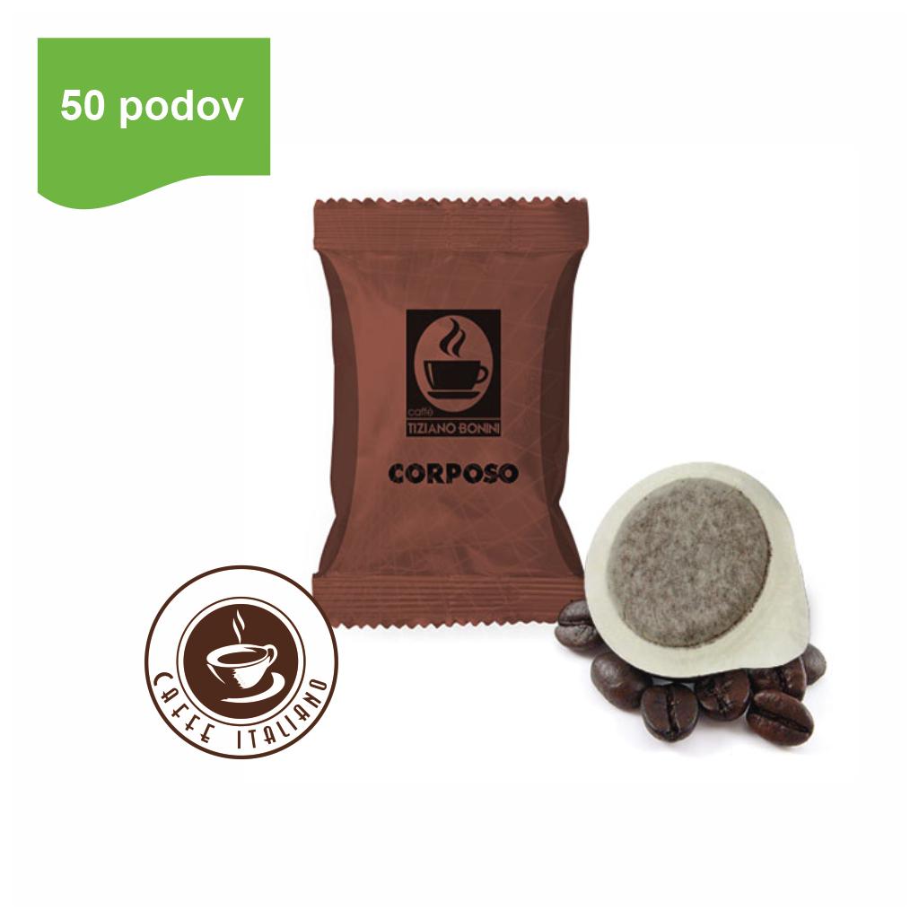 Bonini Corposo E.S.E. kávové pody 50ks