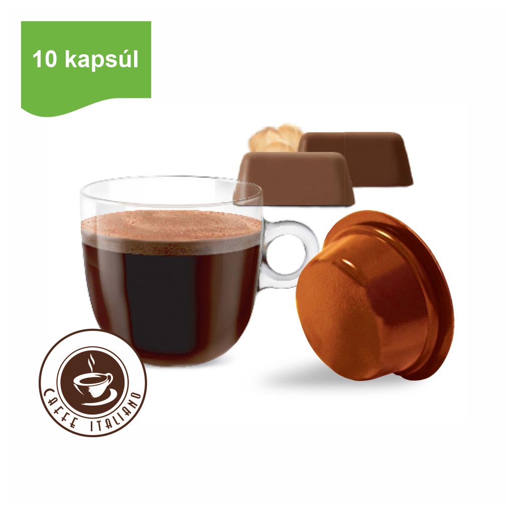Kapsule Lavazza® A Modo Mio® Bonini Nugátová čokoláda 10ks