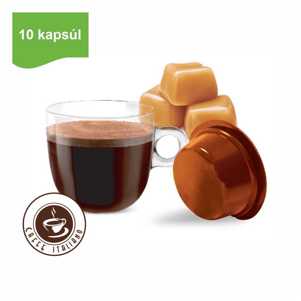 Kapsule Lavazza® A Modo Mio® Bonini karamelová káva 10 ks