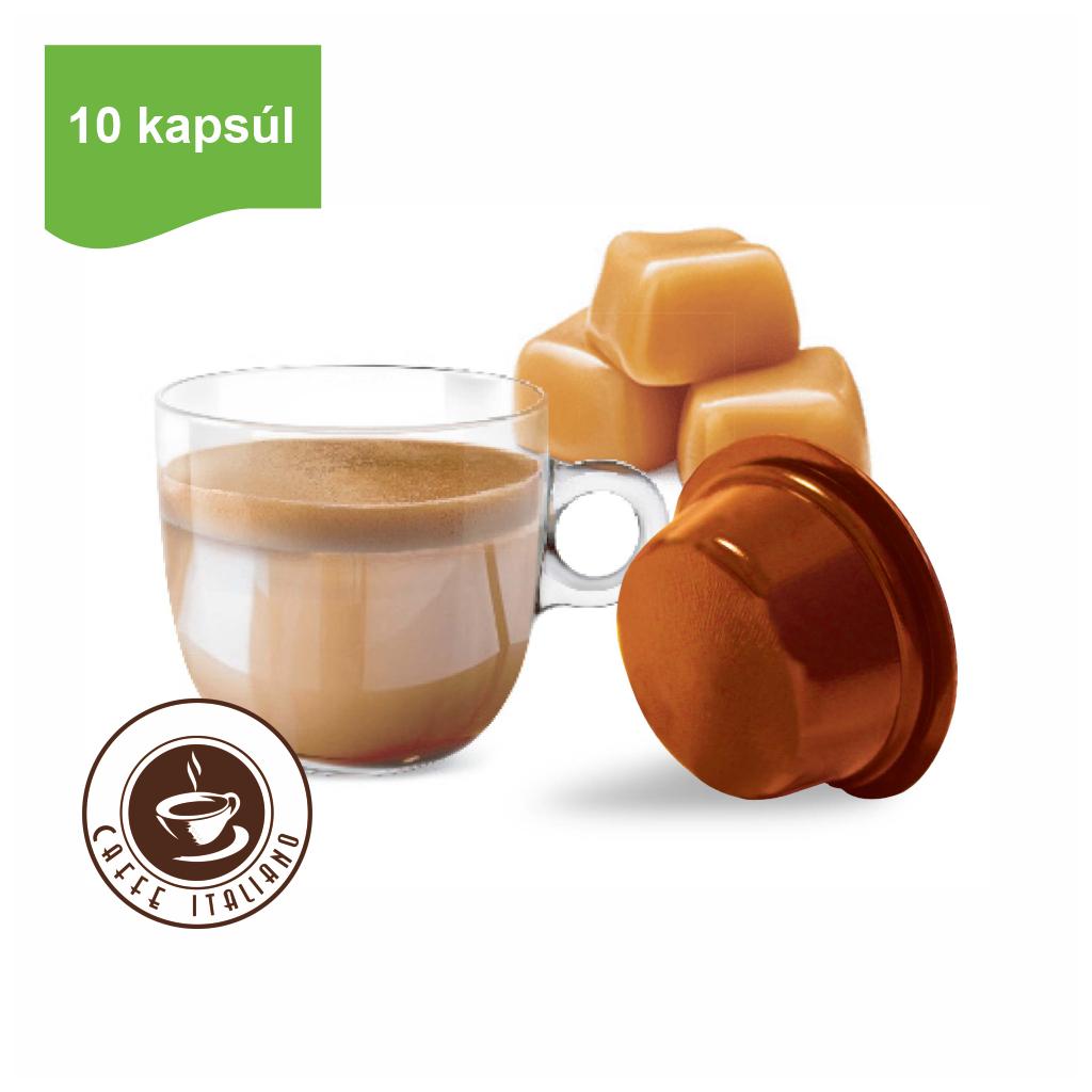 Kapsule Lavazza® A Modo Mio® Bonini Karamelové mlieko 10ks