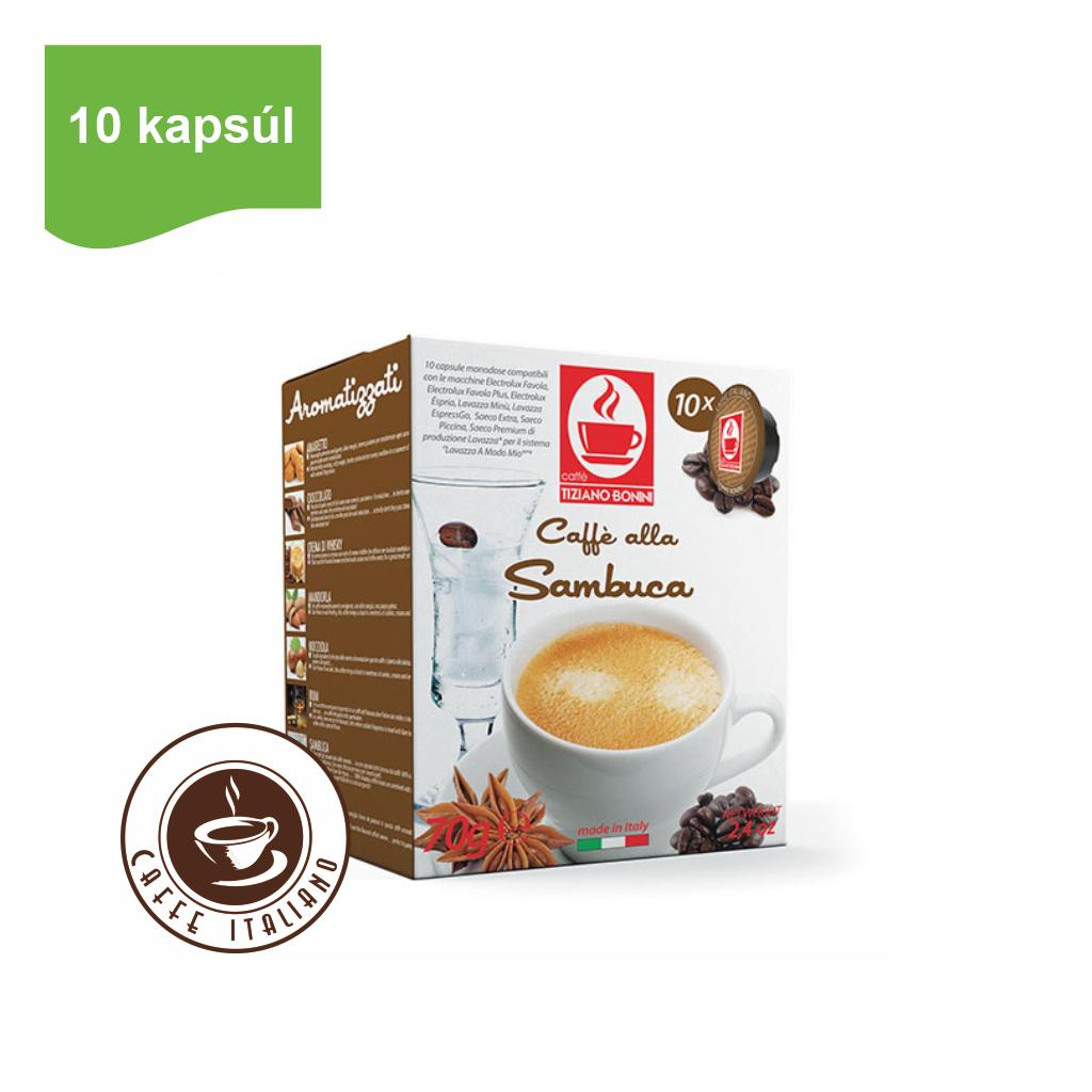 Kapsule Lavazza® A Modo Mio® Bonini Sambuca káva 10ks