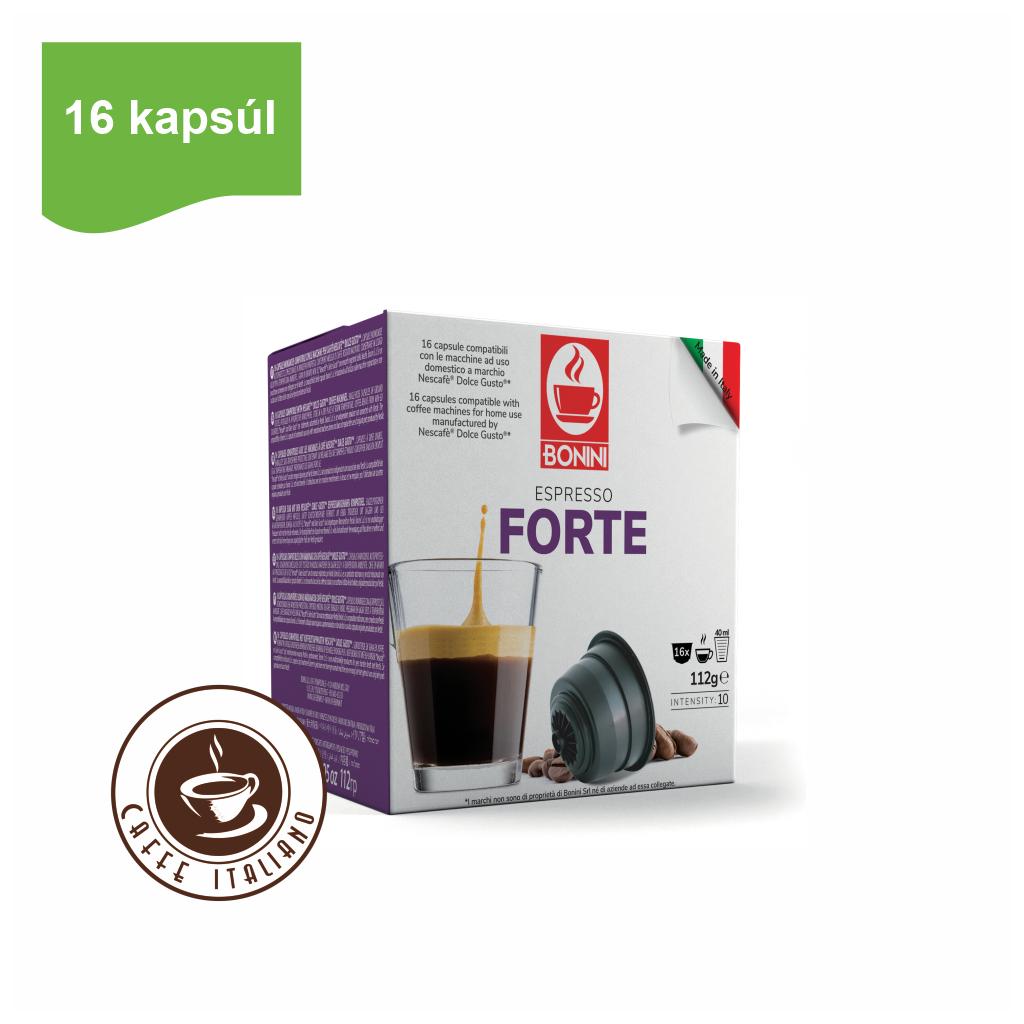 Kapsule Dolce Gusto® Bonini Forte 16ks