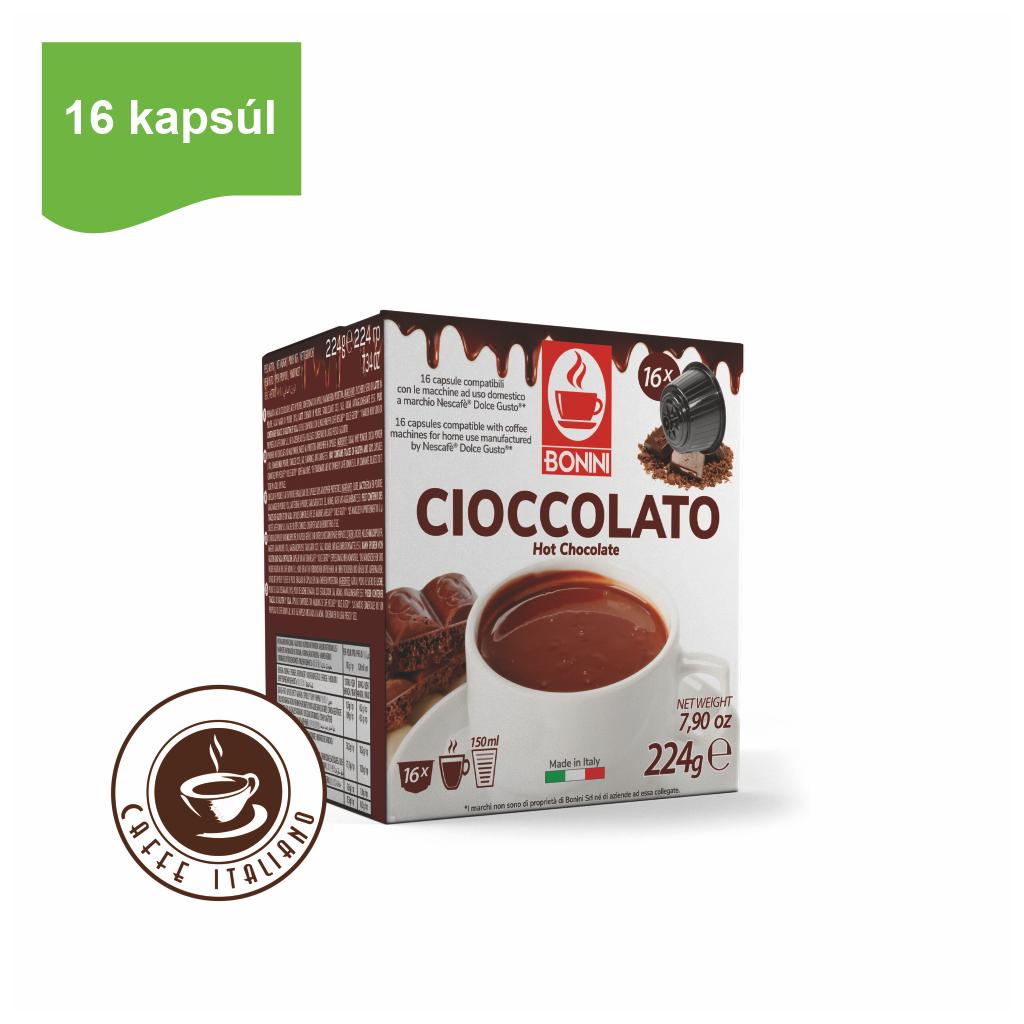 Kapsule Dolce Gusto® Bonini Cioccolato 16ks