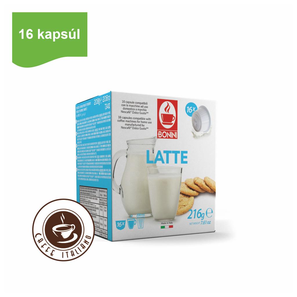 Kapsule Dolce Gusto® Bonini Latte 16ks