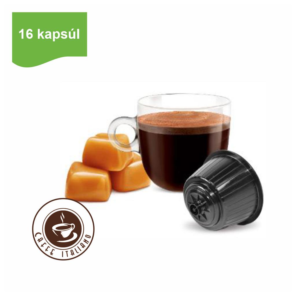 Kapsule Dolce Gusto® Bonini karamelová káva 16ks