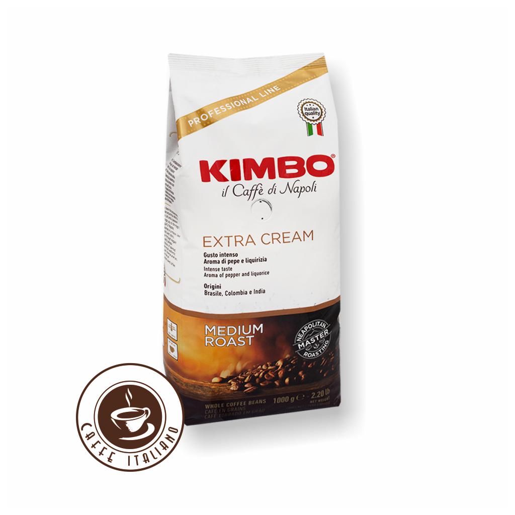 Kimbo Extra Cream 1kg zrnková káva