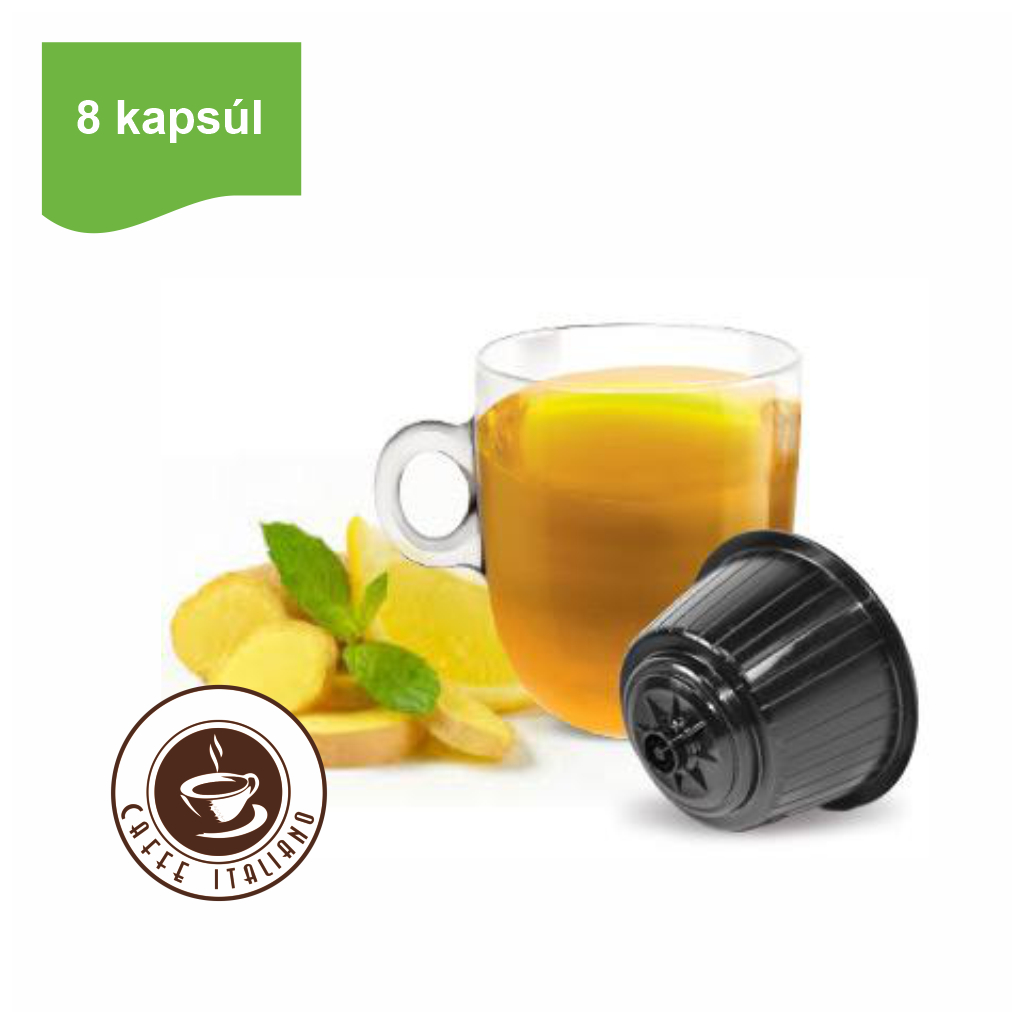 Kapsule Dolce Gusto® Bonini čaj zázvor a citrón 8ks