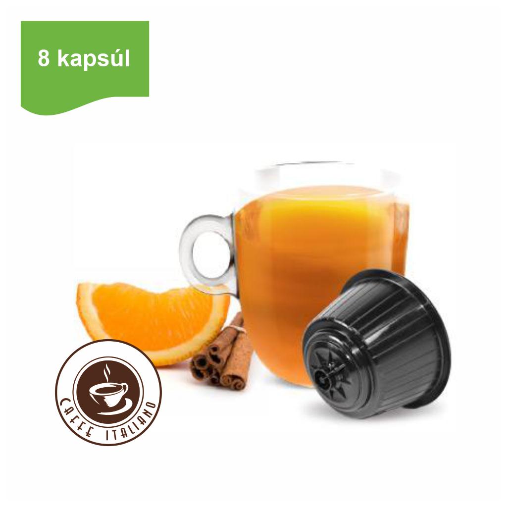 Kapsule Dolce Gusto® Bonini Pomaranč a škorica 8ks