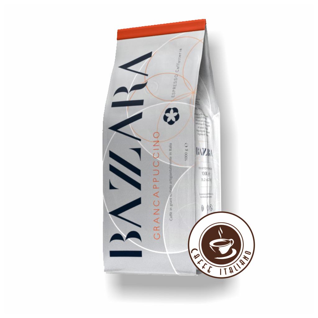 Bazzara Gran Cappuccino zrnková káva 1kg