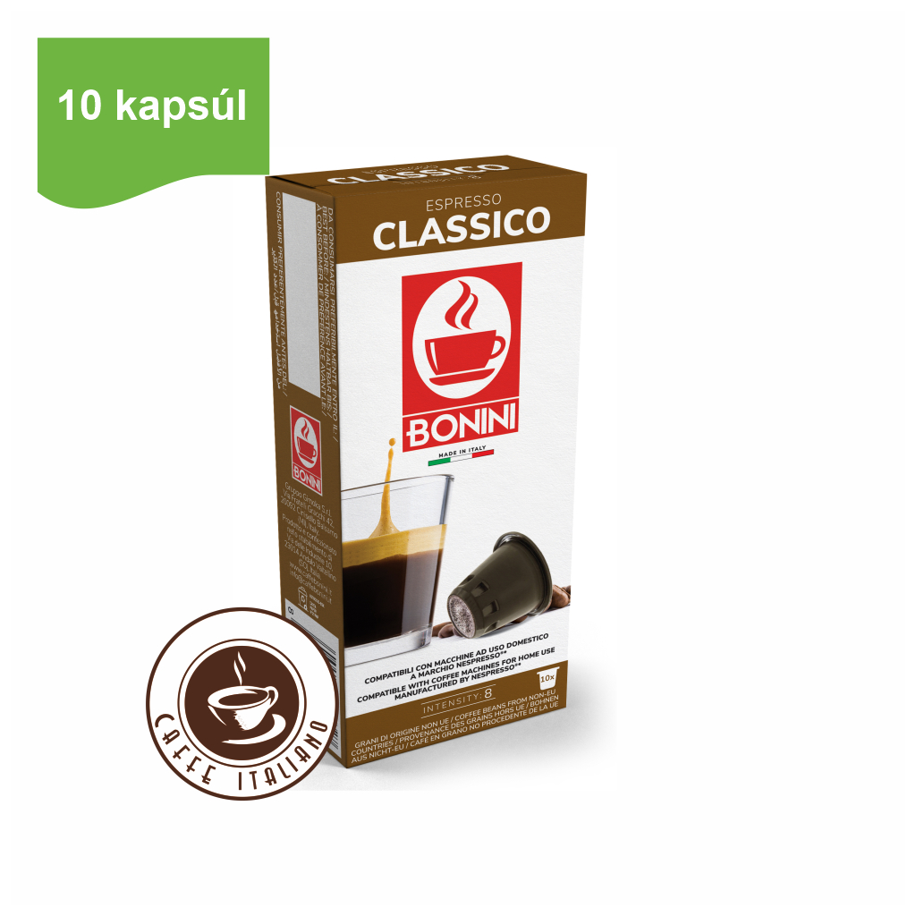 Kapsule Nespresso®Bonini Classico 10ks