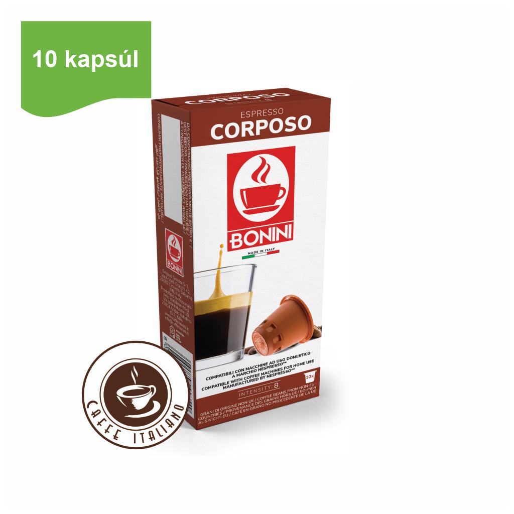 Kapsule Nespresso®Bonini Corposo 10ks