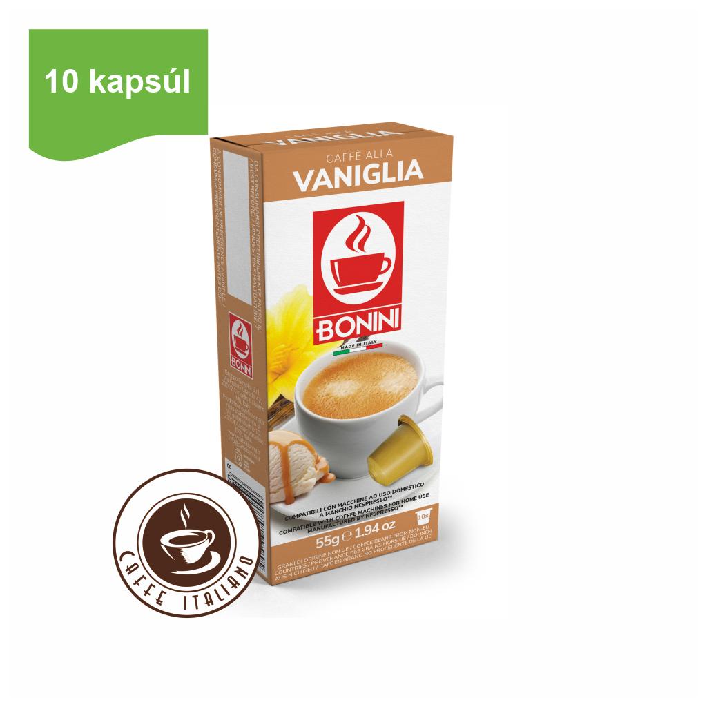 Kapsule Nespresso®Bonini Vanilková káva 10ks