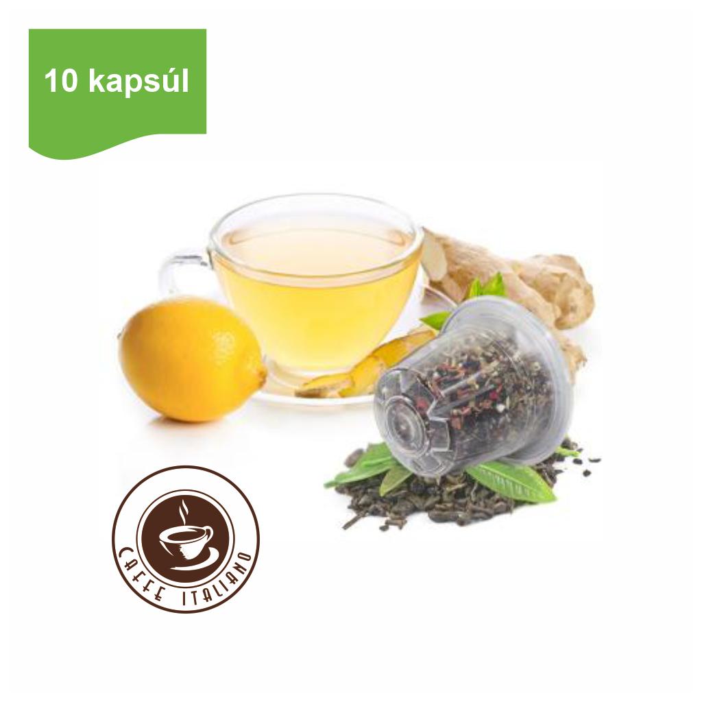 Kapsule Nespresso®Bonini Čaj zázvor & citrón 10ks