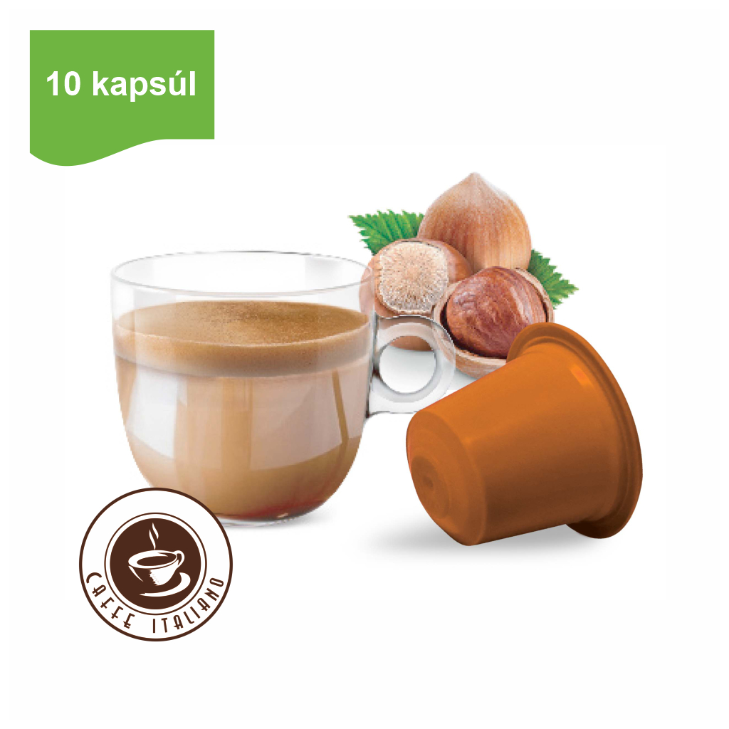 Kapsule Nespresso®Bonini Oriešok 10ks