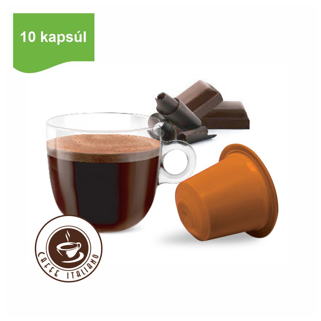 Kapsule Nespresso®Bonini Tmavá čokoláda 10ks