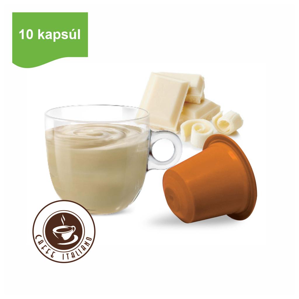 Kapsule Nespresso®Bonini Biela čokoláda 10ks