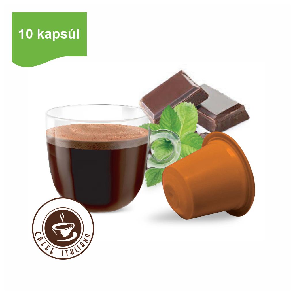 Kapsule Nespresso®Bonini Mätová čokoláda 10ks