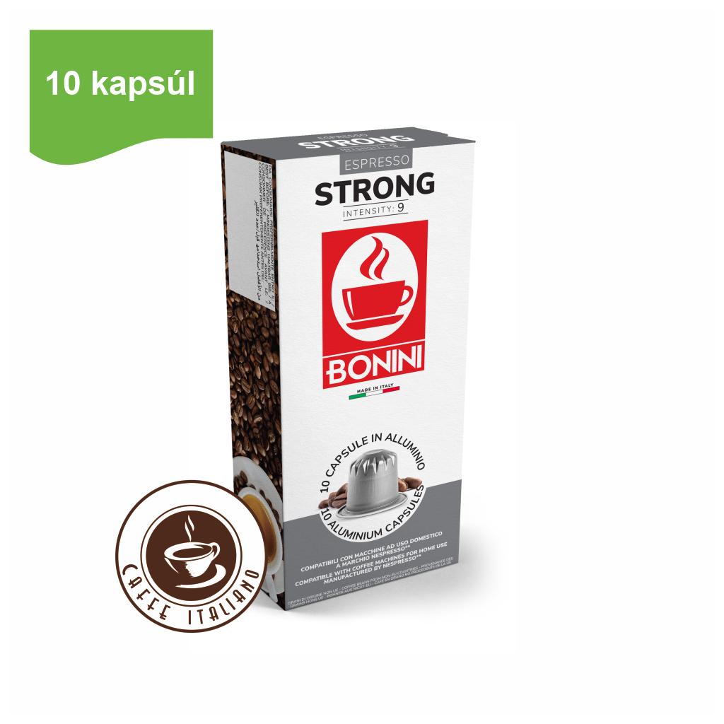 Kapsule Nespresso®Bonini Strong 10ks