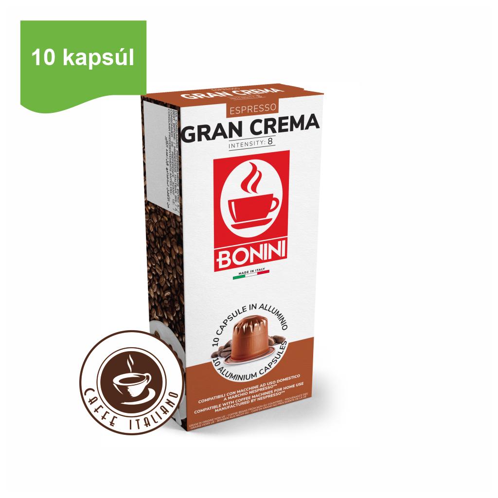 Kapsule Nespresso®Bonini Gran Crema 10ks