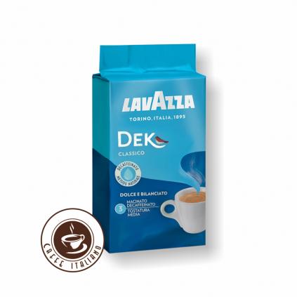 Lavazza Dek bezkofeínová 250g mletá káva