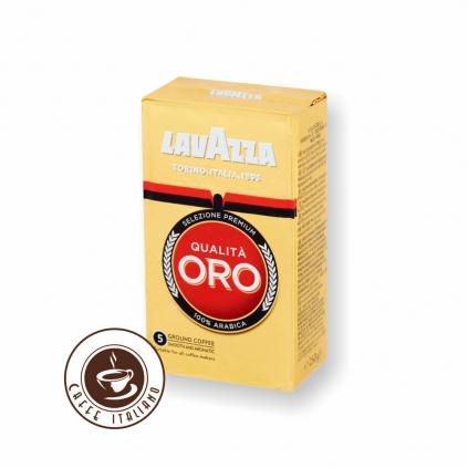 Lavazza Qualita Oro 250g mletá káva