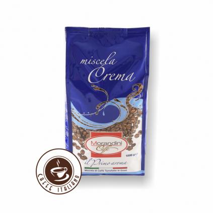 Morandini Miscela Crema 1kg zrnková káva
